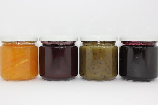 【有機果実】自家製ジャム(170g瓶×4種)