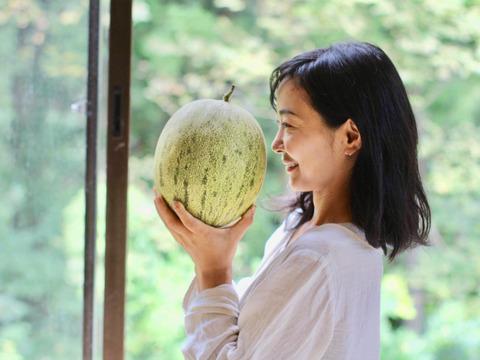 【7月25日から発送】 日本で唯一のオリジナル・オーガニックメロンSサイズ(家庭用)