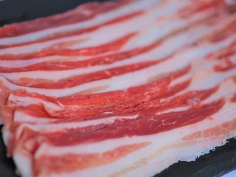 【白河高原清流豚】バラ スライス 1kg