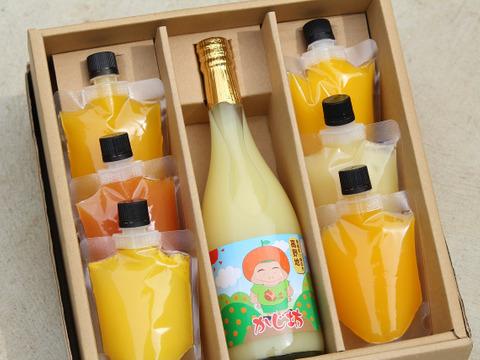 贈り物に♪ 柑橘ジュース、柑橘ゼリー6個セット! 熨斗対応可!
