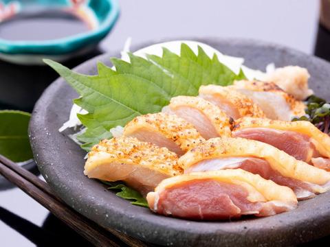 かごしま地鶏タタキ4種(880g )+酒の肴セット~黒さつま鶏~