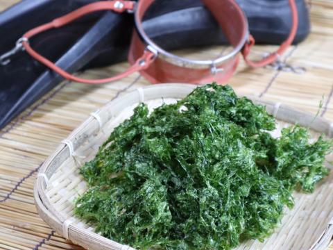 あおさ海苔100g(乾燥)  乾燥のまま簡単✨食べきるまでカスタマーサポート レシピ付き  青さ