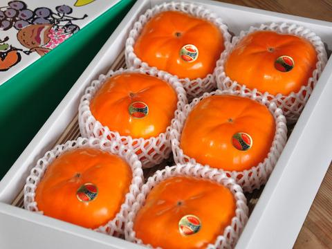 【秋の味覚】幻の柿 次郎柿!木成り完熟の逸品4Lサイズ12個化粧箱入り(5kg)