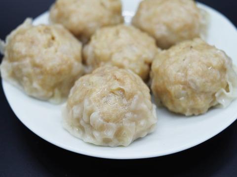 大粒!肉焼売 ボリューム満点 レンジでOK 発酵食品を食べた豚「雪乃醸」【6個×3パック】