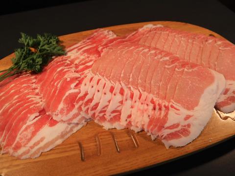 【小江戸黒豚】フレッシュなしゃぶしゃぶセット(300g×2P)《冷蔵でお届け》