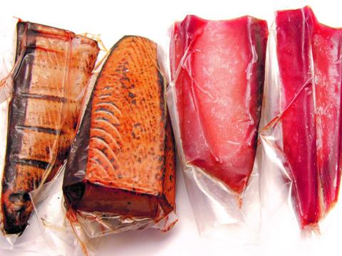 【鮮度一番!漁師が船上で食べている刺身と同じ鮮度!!】日光丸の船上活き〆鰹藁焼と鰹赤身のセット