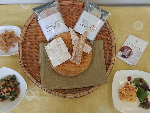 【朝採れ筍使用】発酵&穂先メンマ100g 食べ比べたっぷりセット