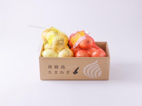 【夏の食べ比べセット】生がおすすめサラダ玉ねぎ ×  煮炊きでとろ甘玉ねぎ 各2kg(計4㎏)