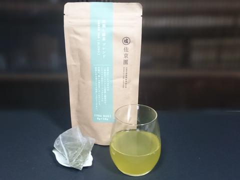 【新茶100%】〈3袋セット!〉1個で2L!深蒸し茶 ひもなし緑茶ティーバッグ 5g×15ヶ入×3袋 農カード付!