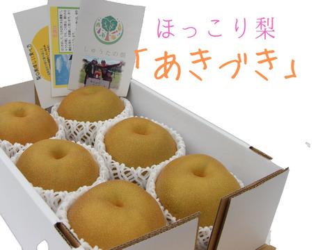 【30名限定予約!】爽やかでスッキリとした甘さが特徴「あきづき梨」