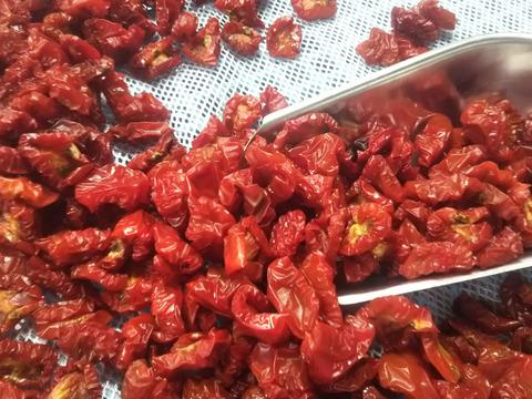 希少な固定種ミニトマトのドライトマト 100g 農薬化学肥料不使用