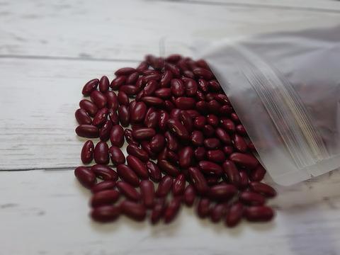 レッドキドニーの代用国産品種❗煮崩れしずらい❗色落ちしずらい❗サラダ用赤インゲン 300g×2パック
