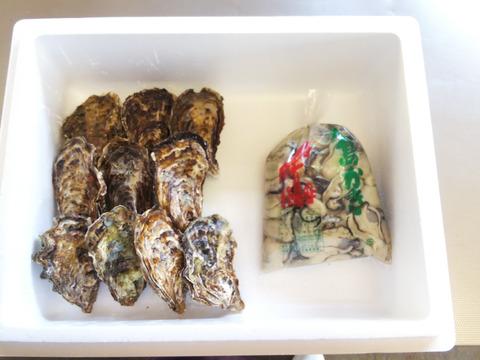値下げ~😍【加熱用】殻付き牡蠣10ヶ+【加熱用】むき身700g