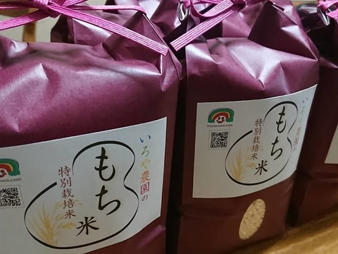 【期間限定おうち時間応援値下げ】愛知県産 もち米「特別栽培米」 1.4kg