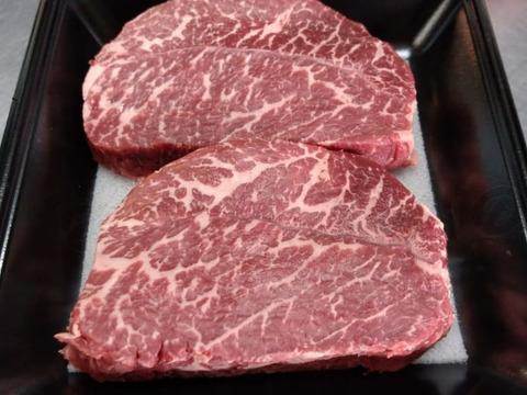 食べチョク赤崎牛赤身ステーキ200g×2枚