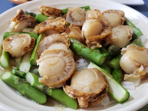 【高タンパク低カロリー】美味しく健康に:新鮮ボイルほたて(1kg約50粒)
