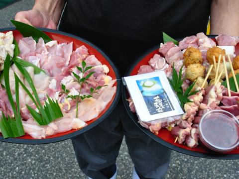THE鶏づくし!焼鳥&鶏焼き肉お試しセット!【  焼鳥20本 & かしわ焼き肉800g 】
