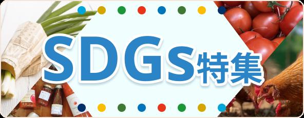 SDGsの取り組みを5つの特集でご紹介!