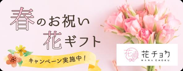 「花チョク」春のギフトキャンペーン実施中!