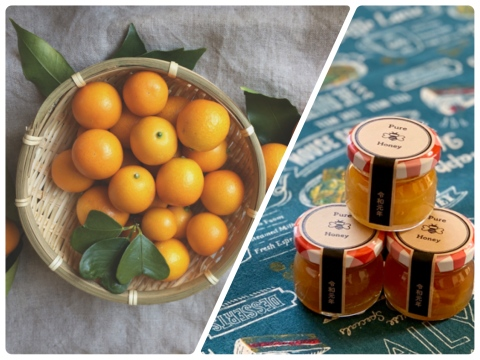 【限定5セット】みつばちの贈り物 金柑と蜂蜜
