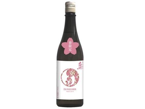 【数量限定500本のみ】大納川純米吟醸 桜ラベル 720ml