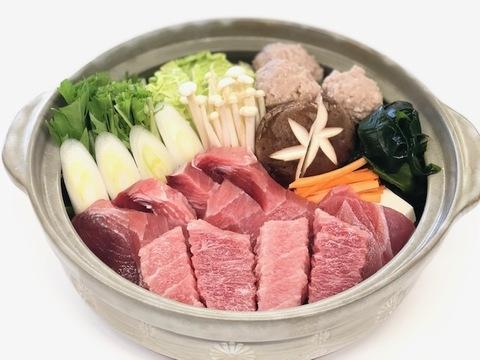 昭福丸天然まぐろの葱鮪(ねぎま)鍋(2人前用)