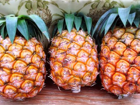 減農薬パイナップル(ピーチパイン) 小玉 3個