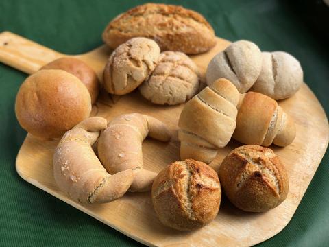 パンセット④:自然栽培小麦のみ使用したパンセット