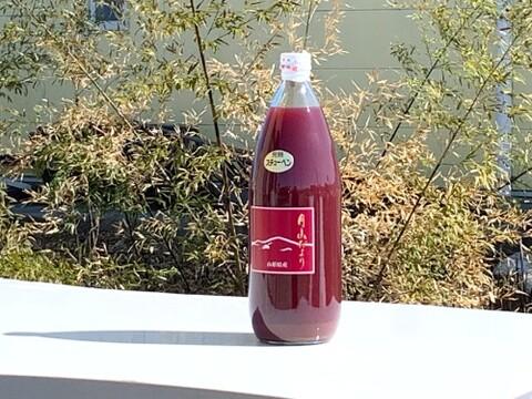 【果物王国 山形から】完熟ぶどうをそのままジュースに!100%ストレートぶどうジュース1,000mlx1本