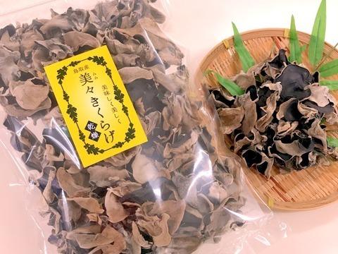 【有機JAS認証】食べたい時にサッと水戻し「純国産」乾燥きくらげ 大容量200g×2袋
