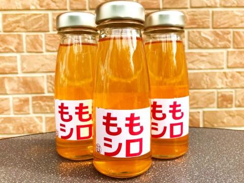 福島の桃がたっぷり【農家の手作り桃シロップ6本セット】炭酸や焼酎に モモ・ももジュース