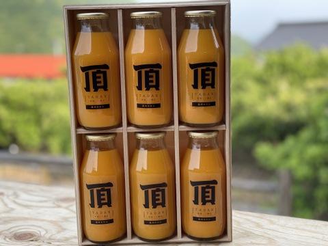 【桐箱入】頂みかんジュース小瓶プレミアム6本入