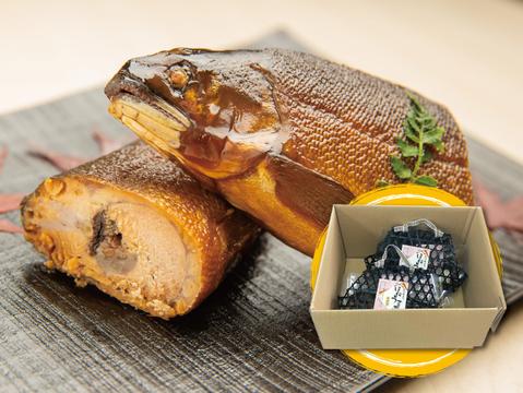 【まとめ買いで送料お得!】紀州仕立て子持ち鮎『ほねうま煮』(特大サイズ) 2つセット