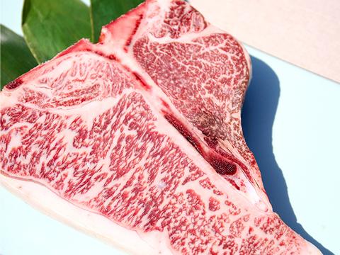 【数量限定】希少! Tボーン ステーキ 約700g以上 BBQ 国産 黒毛和牛 A5ランク 骨付き