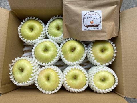 甘~いりんご「トキ」 に りんごチップス(ピンクレディ®使用)1袋おまけします!