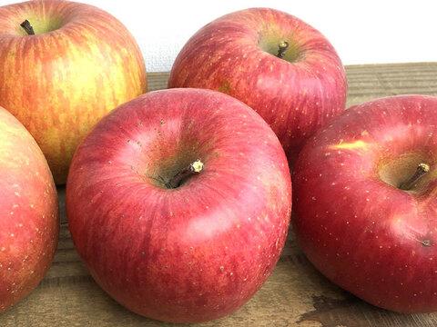りんご サンふじ【家庭用約3㎏】約7-12玉