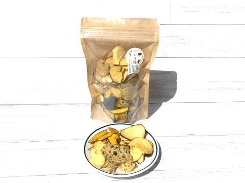 わが社の1番人気商品!野菜チップス【サクッ!とベジタ棒】75g大袋ココナッツオイル使用