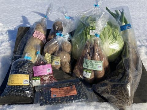 お客様のお好み野菜詰め合わせ! 癒しのお野菜セット 『小サイズ』 【栽培期間中 肥料・農薬・たい肥不使用】