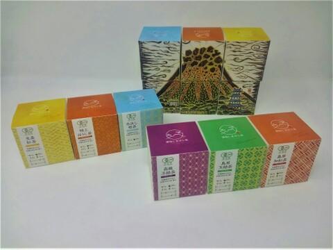 【有機栽培】雲仙しまばら茶セット(6種類のティーバッグ)