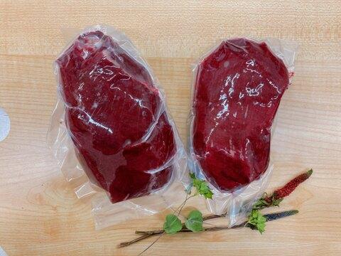 【たっぷり1kg強!】鹿のブロック肉詰め合わせ(300g〜700g 2パック)