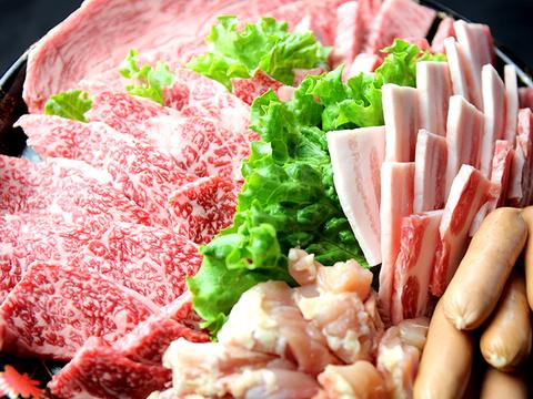 九州産 黒毛和牛 焼肉セット 特上盛り合わせ 3~4人前