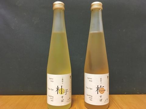 シュワッと!!! 梅すぱ、柚子すぱ登場! 【アルコール8%】