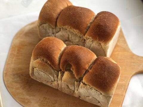 【超貴重な有機JAS認証パン】パンセット⑨:麦の栽培から一貫生産 自然栽培小麦のみ使用した有機JAS対応食パン2個