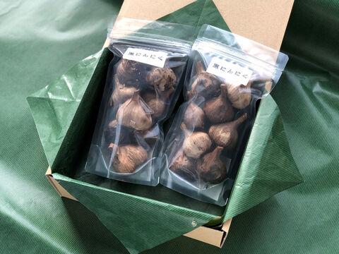【自然栽培ニンニクのみ使用】有機黒ニンニク 100g×2【熨斗付き】
