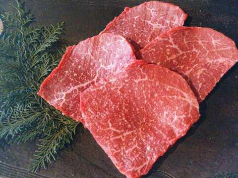 食べチョク[赤崎牛]赤身ステーキ200g×3枚