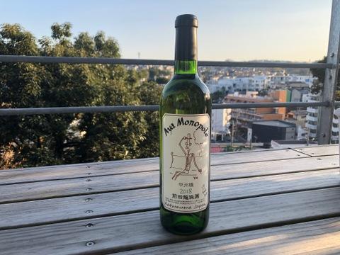 603本限定《スッキリを瓶で熟成》古樹白ワイン2019年 自家栽培樹齢60年古樹甲州 アヤモノポール2019年