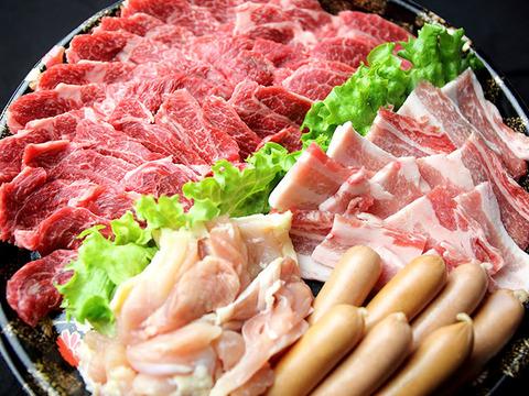 九州産 黒毛和牛 焼肉セット 上盛り合わせ 3~4人前
