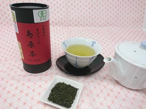 【有機栽培】きれいな水色と甘みが広がる高級玉緑茶(ティーバッグ2g×15)