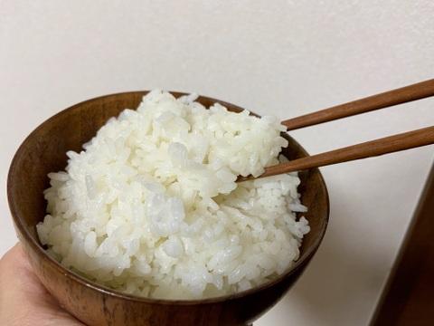 【店頭販売されない希少品種・農林22号】新米 農薬・除草剤不使用 白米3キロ