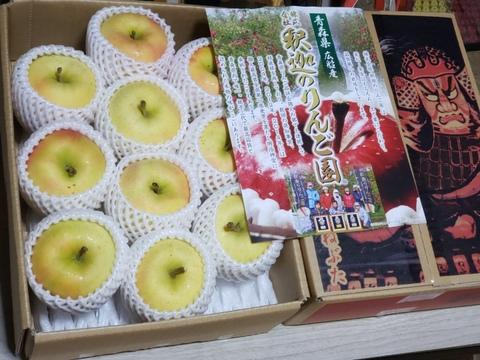 ☆予約開始☆甘くてジューシー⭐青森県イチオシ品種✨  完熟トキ  贈答用3kg8ー10個